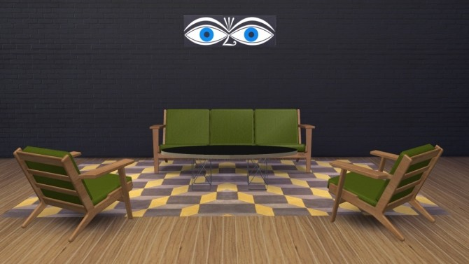 Sims 4 GE290 Collection sofa + armchair at Meinkatz Creations