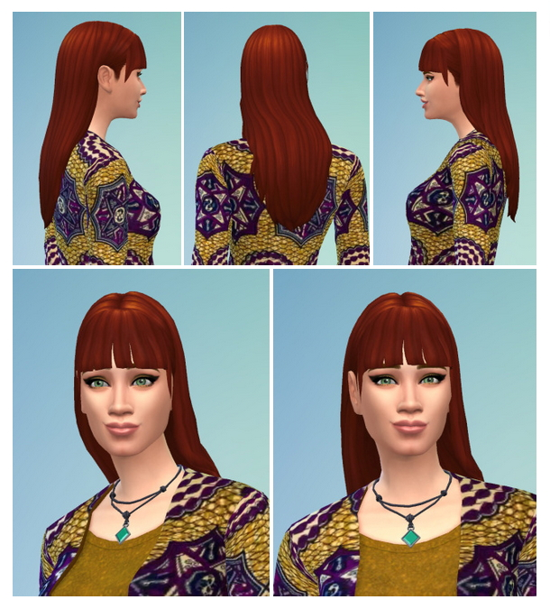 Sims 4 Mina Hair at Birksches Sims Blog