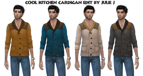 Cool Kitchen Cardigan Edited at Julietoon – Julie J image 2193 Sims 4 Updates