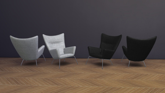 Sims 4 CH445 Wing Chair (Pay) at Meinkatz Creations