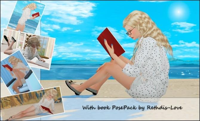 With book 9 poses + 2 bonus secret pose at Rethdis-love
