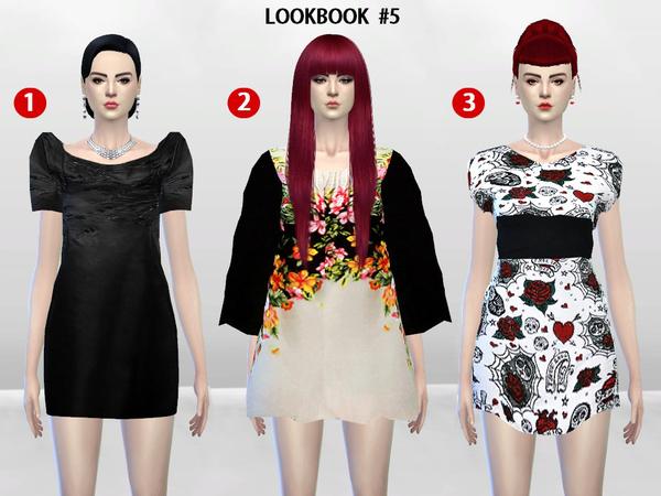 Sims 4 McKenzie LookBook Set 5 by McLayneSims at TSR