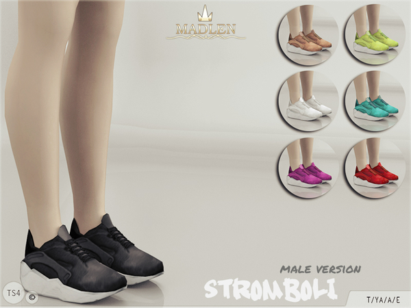 Sims 4 Madlen Stromboli Shoes male version by MJ95 at TSR