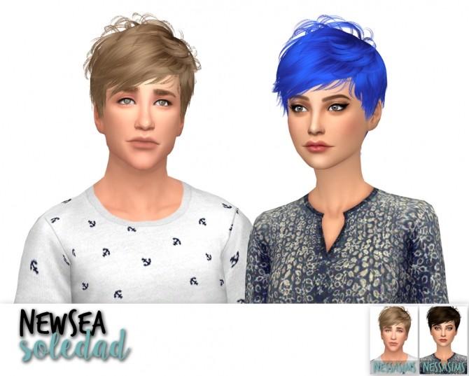 Newsea equinoxe + soledad + voyage hair retexture at Nessa Sims image 2478 670x537 Sims 4 Updates