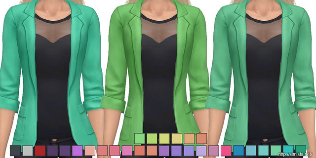 Sims 4 Amy Top Collection at Simista