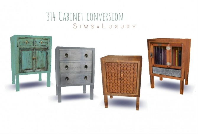 Sims 4 3T4 Cabinet conversion at Sims4 Luxury