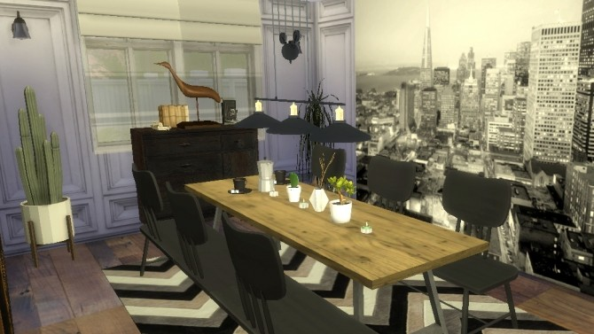 Sims 4 Dinning room design Makeover part 3 at Sims4 Luxury