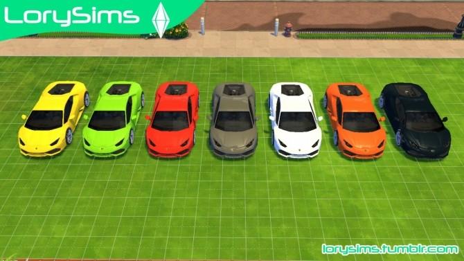 Lamborghini Pack 1 At Lorysims 187 Sims 4 Updates