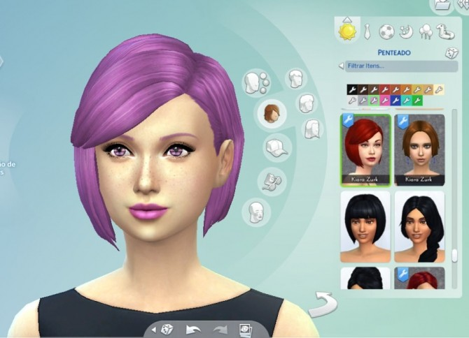 Sims 4 Innocence hair at My Stuff