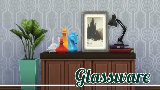 Glassware at Jool's Simming image 2663 670x376 Sims 4 Updates