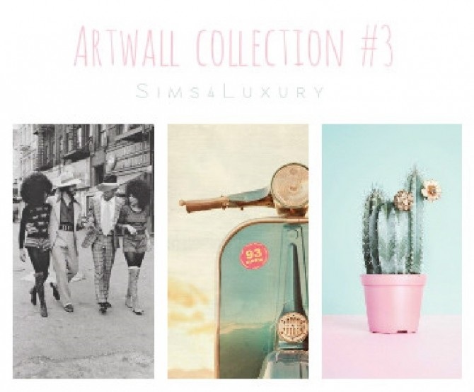Sims 4 Artwall collection #3 at Sims4 Luxury
