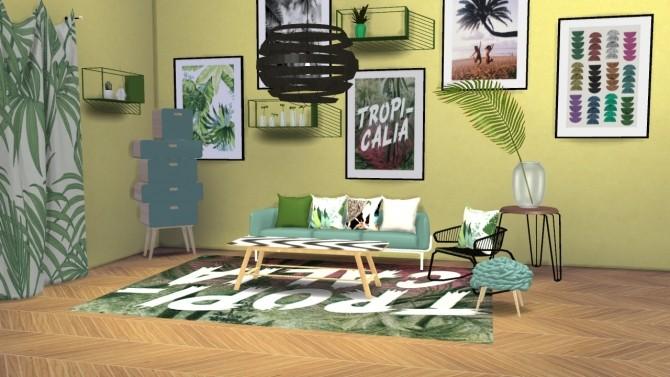 Urban Jungle Set at Meinkatz Creations image 2681 670x377 Sims 4 Updates