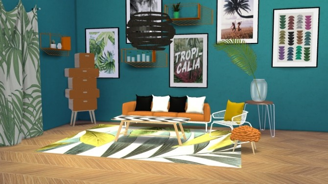 Urban Jungle Set at Meinkatz Creations image 2701 670x377 Sims 4 Updates