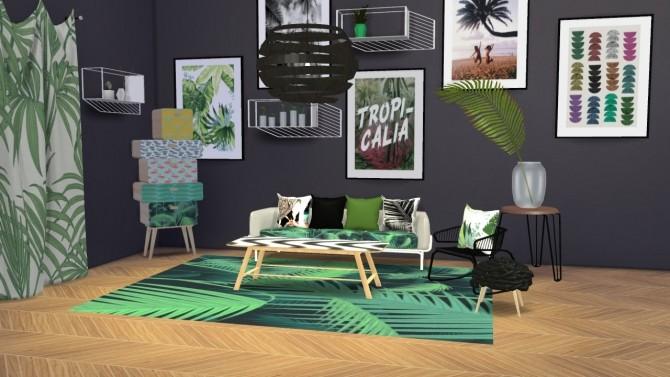 Urban Jungle Set at Meinkatz Creations image 2711 670x377 Sims 4 Updates