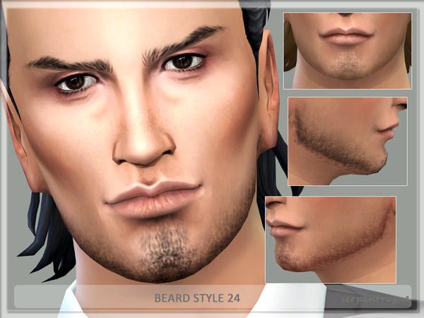 Sims 4 Beard Style 24 by Serpentrogue at TSR