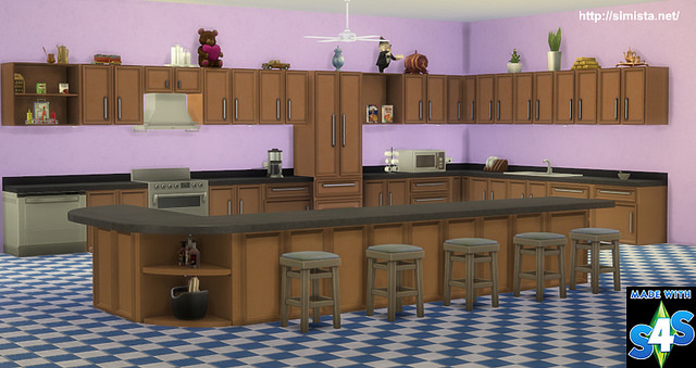 Forever Kitchen at Simista image 2755 Sims 4 Updates