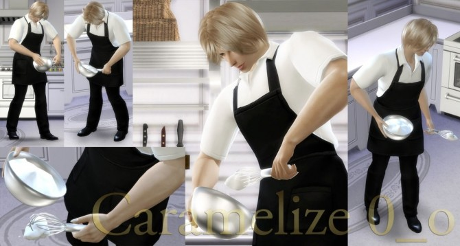 Cooking Poses at Caramelize image 2757 670x358 Sims 4 Updates
