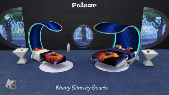 Sims 4 PULSAR set by Souris at Khany Sims