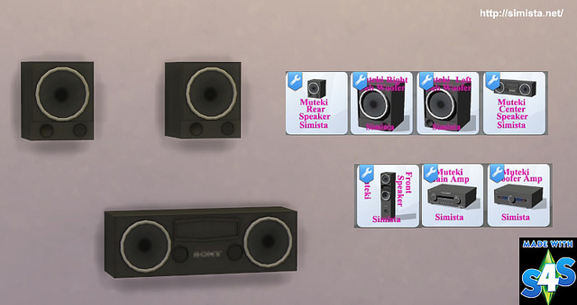 Home Theater System at Simista image 2801 Sims 4 Updates