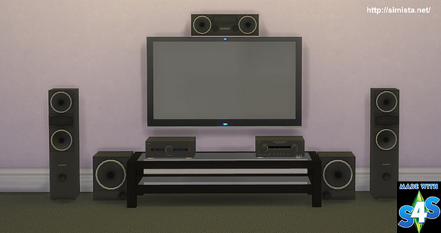 Home Theater System at Simista image 2811 Sims 4 Updates