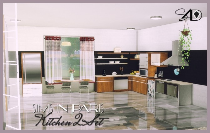 Stove sims 4 updates best ts4 cc downloads for Sims 4 kitchen designs