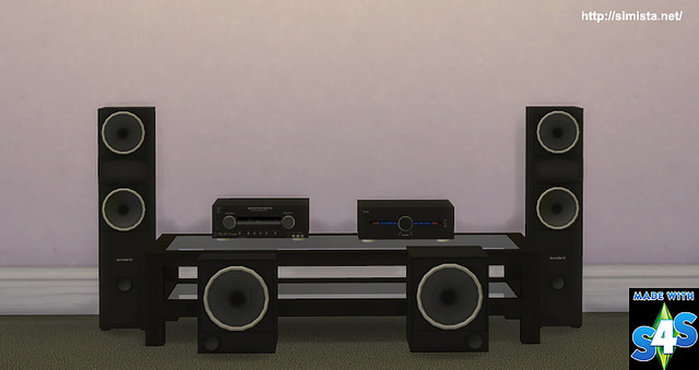 Home Theater System at Simista image 2821 Sims 4 Updates
