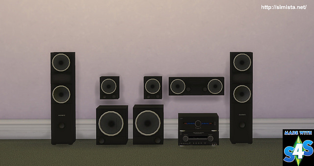 Home Theater System at Simista image 2831 Sims 4 Updates