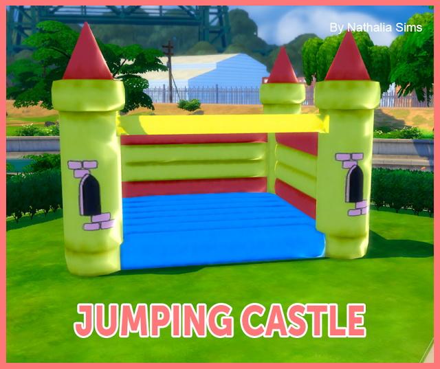 Jumping Castle Deco Conversion 2t4 At Nathalia Sims 187 Sims