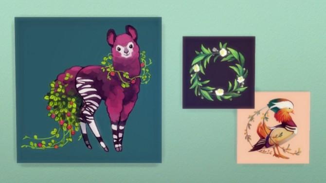 Tea Spirits Prints at Hamburger Cakes image 2901 670x376 Sims 4 Updates
