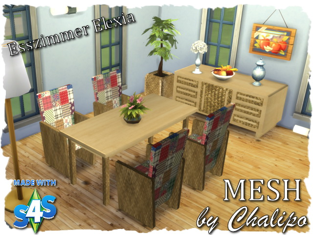 Elexia diningroom by Chalipo at All 4 Sims image 29114 Sims 4 Updates