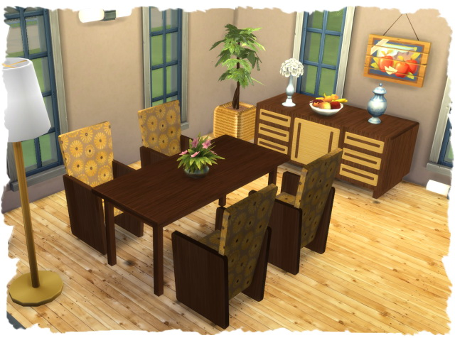 Elexia diningroom by Chalipo at All 4 Sims image 29211 Sims 4 Updates