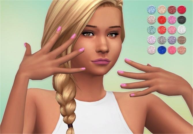 Sims 4 Stars Nail Polishes at Veranka