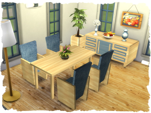 Elexia diningroom by Chalipo at All 4 Sims image 2947 Sims 4 Updates