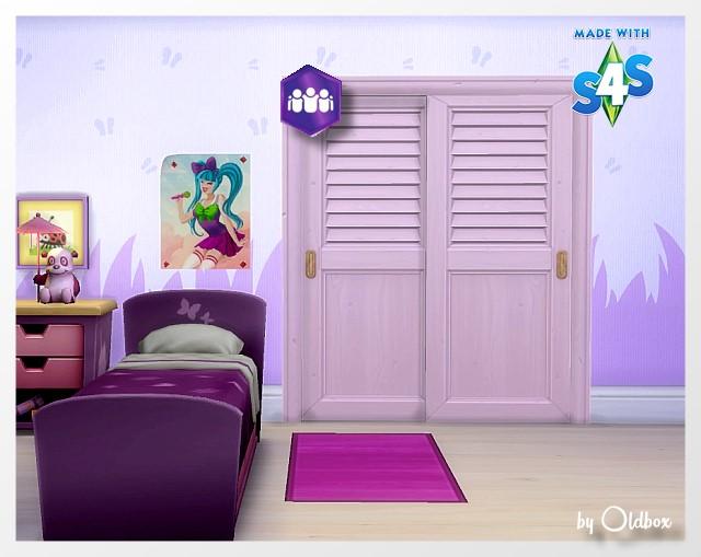 Sims 4 Fashionista wardrobe at All 4 Sims