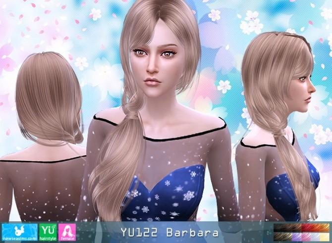 Sims 4 YU122 Barbara hair (Pay) at Newsea Sims 4
