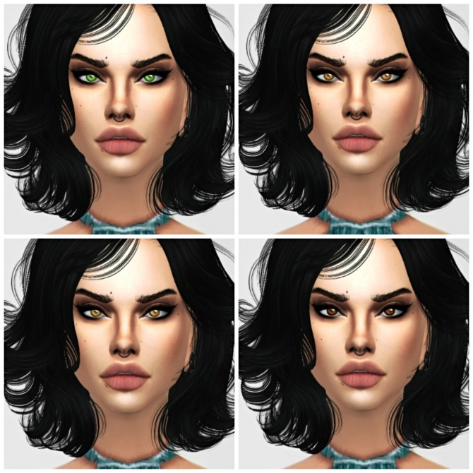 Oceane eyes at Sims by Skye image 3035 670x670 Sims 4 Updates