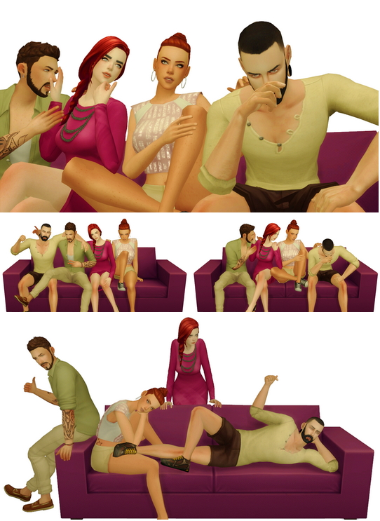 Group Poses #2 at Rinvalee image 3063 Sims 4 Updates