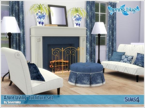 Sims 4 Azure Living by Severinka at TSR