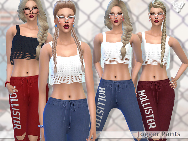 PZC Realistic Jogger Pants by Pinkzombiecupcakes at TSR image 3112 Sims 4 Updates