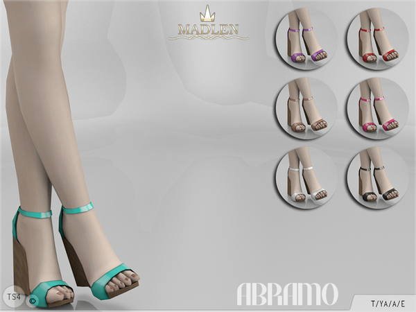 Sims 4 Madlen Abramo Shoes by MJ95 at TSR