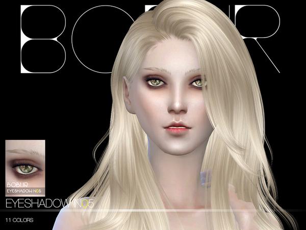 Sims 4 Eyeshadow N05 by Bobur 3 at TSR