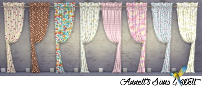 TS3 Curtains Conversion Part 1 at Annett's Sims 4 Welt image 348 670x289 Sims 4 Updates