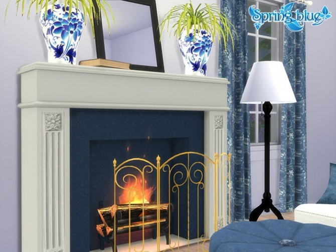 Sims 4 Azure Living at Sims by Severinka