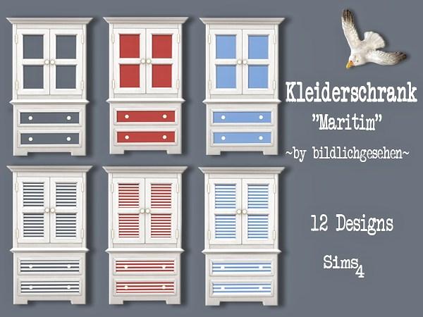 Maritim dresser by Bildlichgesehen at Akisima image 384 Sims 4 Updates