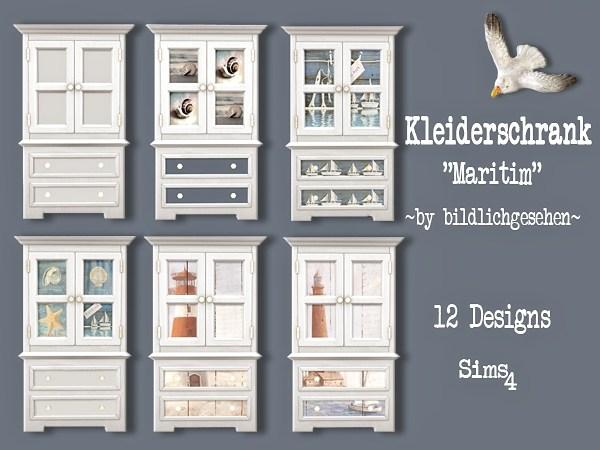 Maritim dresser by Bildlichgesehen at Akisima image 385 Sims 4 Updates