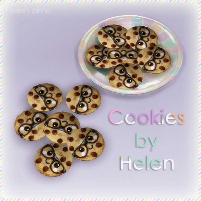 Sims 4 Cookies at Helen Sims