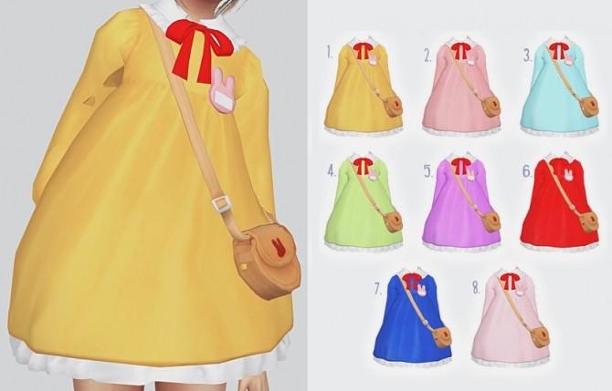 Sims 4 Sunshine Dress at Kalewa a
