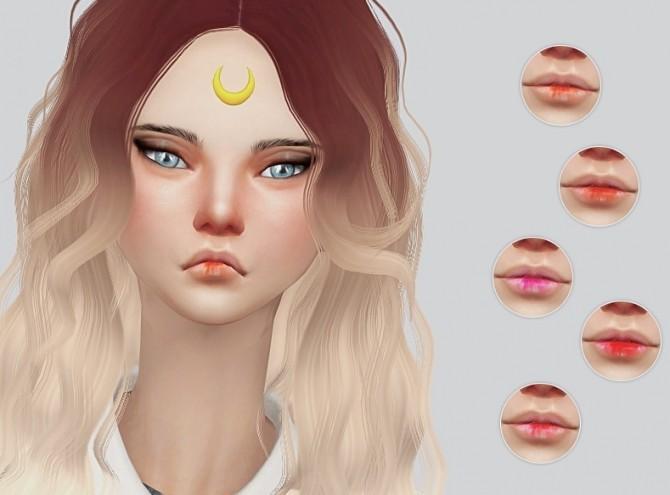 Sims 4 Raspberry Lips at Kalewa a