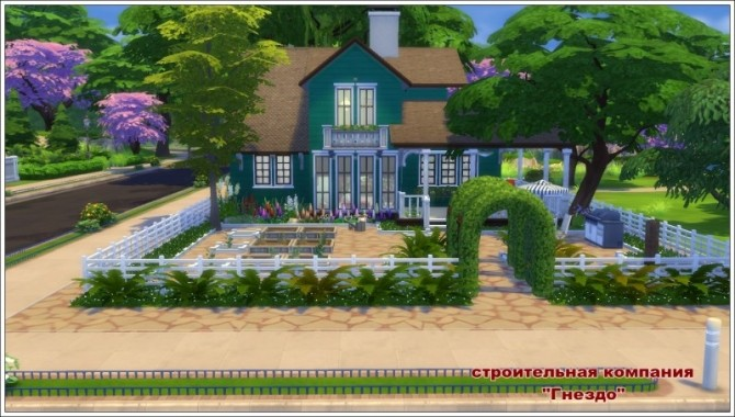 Verandah house at Sims by Mulena image 418 670x380 Sims 4 Updates