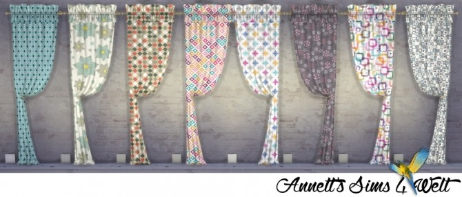 TS3 Curtains Conversion Part 1 at Annett's Sims 4 Welt image 428 670x287 Sims 4 Updates